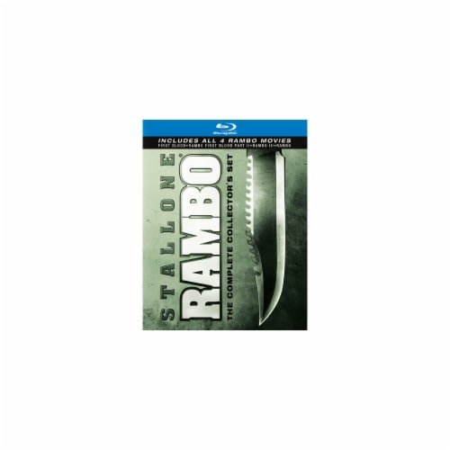 Rambo: The Complete Collection (Blu-ray) Perspective: front