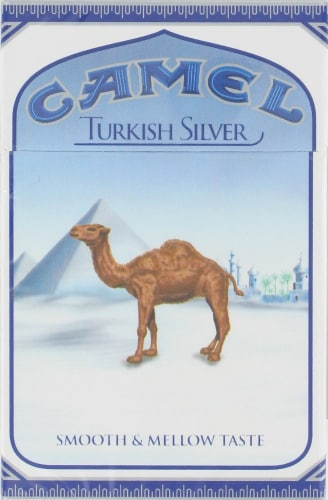 King Soopers Camel Turkish Silver Cigarettes 1 Ct