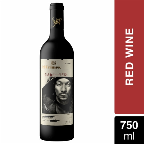 19 Crimes Snoop Cali Red Wine Perspective: front