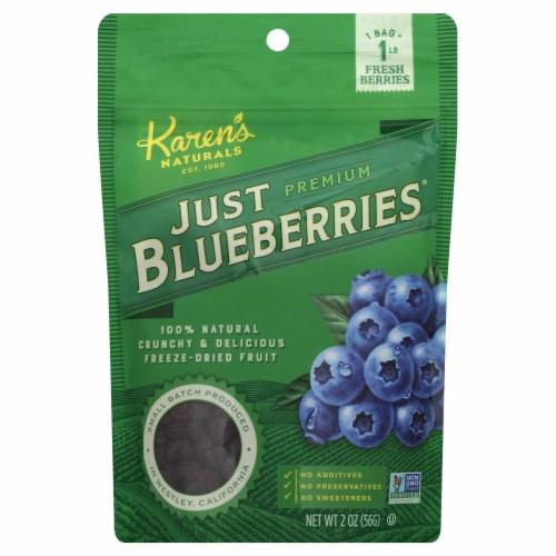 Karen's Naturals Just Blueberries Perspective: front