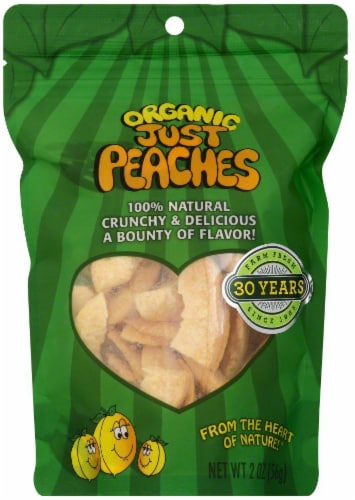 Karen's Naturals Organic Just Peaches Perspective: front