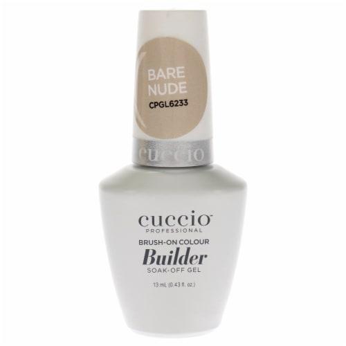 Cuccio Pro BrushOn Colour Builder Soak Off Gel  Bare Nude Nail Polish 0.43 oz Perspective: front