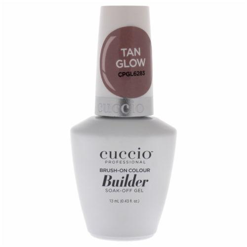 Cuccio Pro BrushOn Colour Builder Soak Off Gel  Tan Glow Nail Polish 0.43 oz Perspective: front