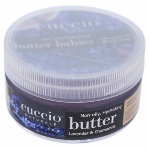 Cuccio Butter Babies  Lavender and Chamomile Body Lotion 1.5 oz Perspective: front