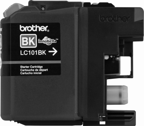 Brother LC101 Ink Cartridge - Black Perspective: front