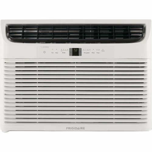 Frigidaire 28000 BTU 230V Window-Mounted Heavy-Duty Air Conditioner with Temperature Sensing Perspective: front