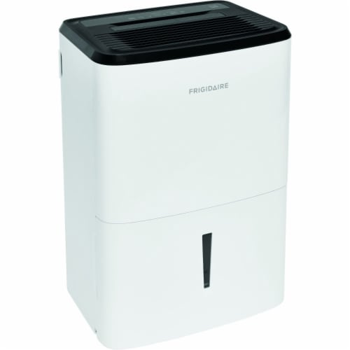 Frigidaire Energy Star Dehumidifier - White Perspective: front