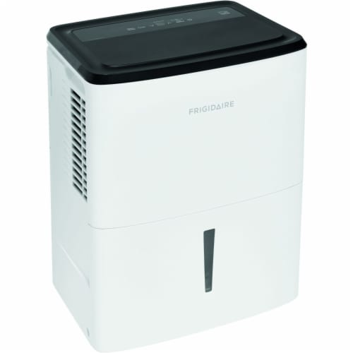 Frigidaire Energy Star 22-Pint Dehumidifier - White Perspective: front
