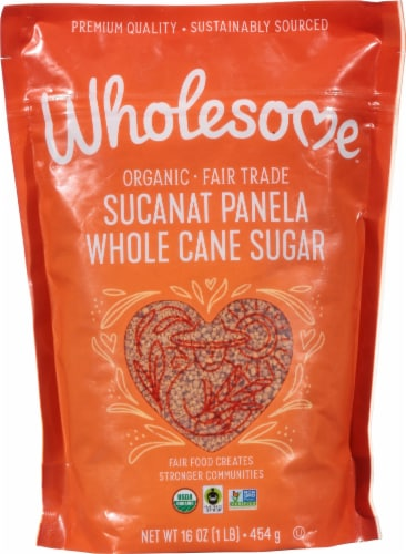 Wholesome Sweeteners Organic Sucanat Perspective: front