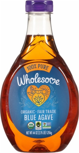 Wholesome Sweeteners Organic Blue Agave Syrup Perspective: front