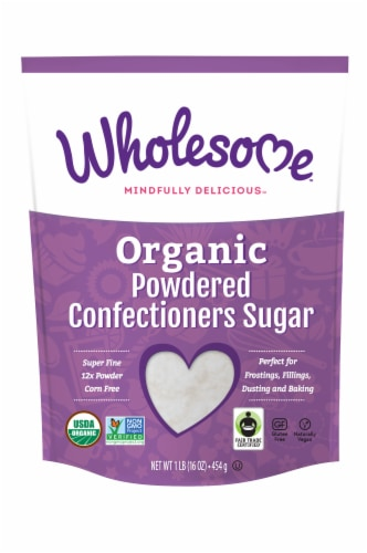 Wholesome Sweeteners Organic Powdered Confectioners Sugar Perspective: front