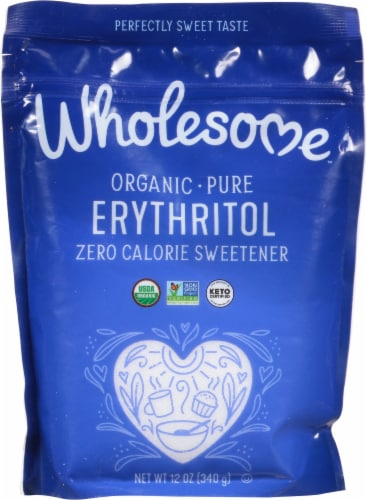 Wholesome Organic Zero Sugar Sweetener Perspective: front