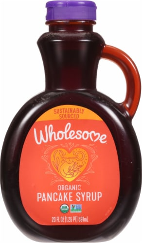 Wholesome Sweeteners Organic Pancake Syrup Perspective: front