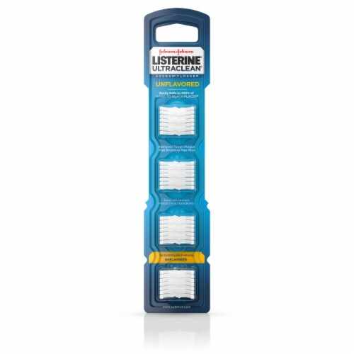 Listerine Flossheads 28 Count Perspective: front