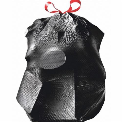 Glad Trash Bag,30 gal.,Black,PK70  70358 Perspective: front