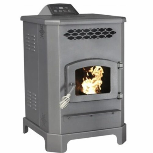 United States Stove AP60 1800 Sq ft. Pellet Stove EPA Perspective: front