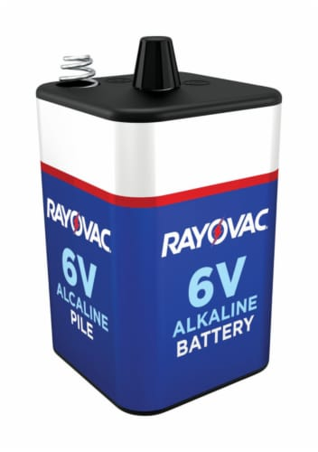 Rayovac Lantern Battery,Alkaline,6VDC,Spring HAWA 806R Perspective: front