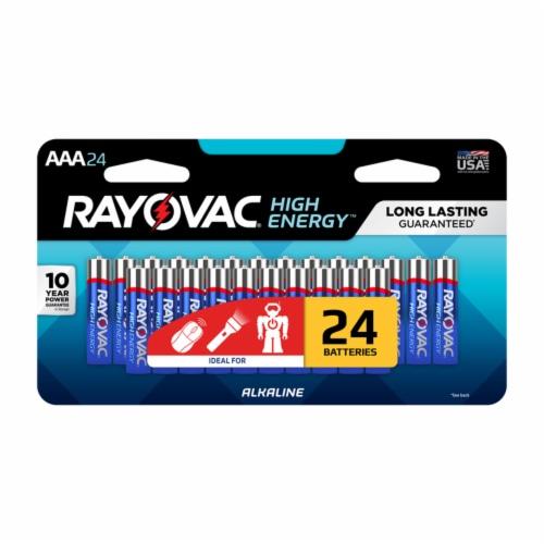 Rayovac AAA Alkaline Batteries Perspective: front
