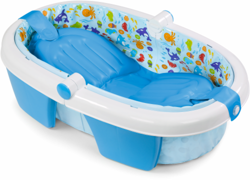 Summer Infant Foldaway Baby Bath Tub Perspective: front