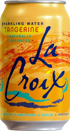 LaCroix Tangerine Sparkling Water Perspective: front