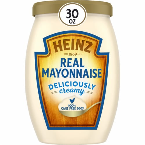 Heinz Real Mayonnaise Perspective: front