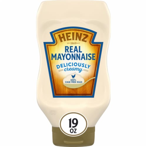 Heinz Mayonnaise Perspective: front