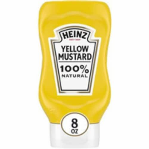 Heinz Yellow Mustard Perspective: front