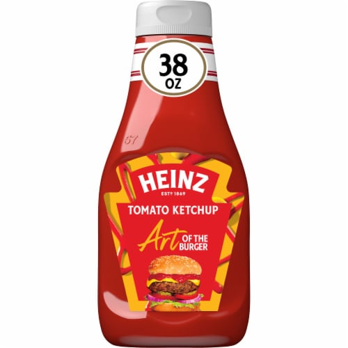 Heinz Tomato Ketchup Perspective: front