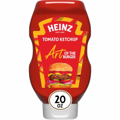 Heinz Original Tomato Ketchup Perspective: front