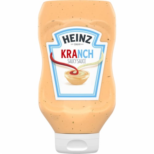 Heinz Kranch Sauce Perspective: front
