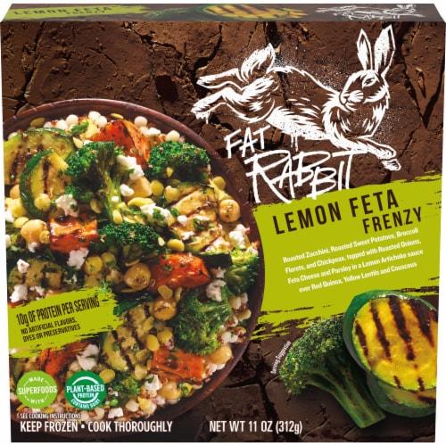 Fat Rabbit Lemon Feta Frenzy Frozen Meal Perspective: front