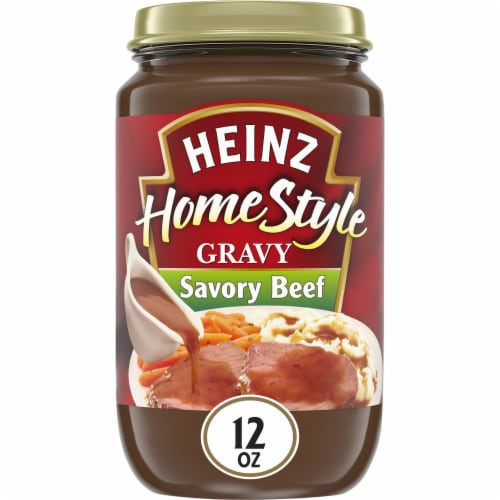 Heinz Home-Style Savory Beef Gravy Perspective: front