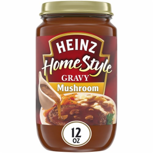 Heinz HomeStyle Mushroom Gravy Perspective: front