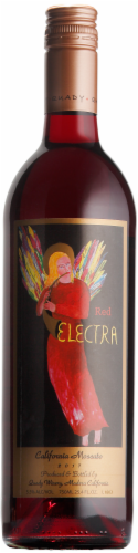Quady Red Electra Moscato Perspective: front
