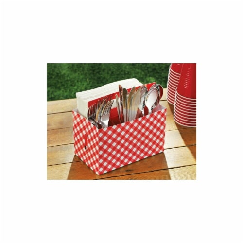 Amscan 340064 Picnic Party Cardboard Utensil - Pack of 12 Perspective: front
