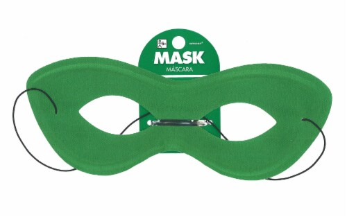 Amscan Mask Super Hero Green Perspective: front