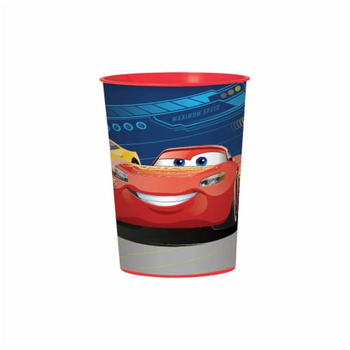 Amscan Disney Cars Favor Cup Perspective: front