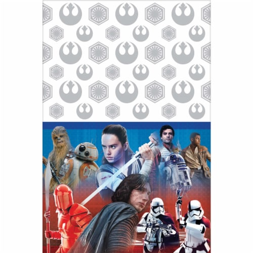 Amscan Star Wars Table Cover Perspective: front