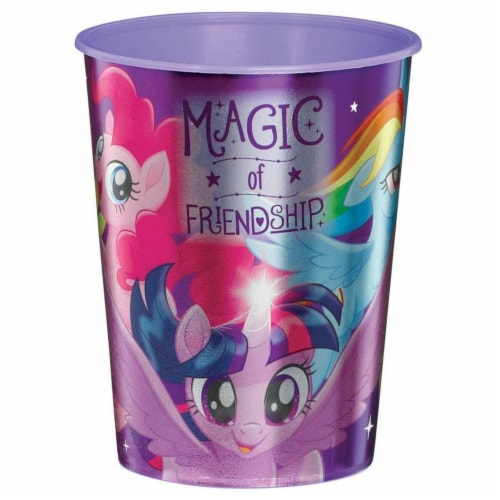 Amscan 307217 16 oz My Little Pony Friendship Adventures Plastic Favor Cup Perspective: front
