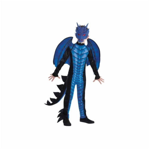 Amscan 402946 Child Deadly Dragon Costume for Boys, Extra Large Perspective: front