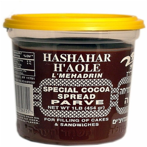 Hashahar Ha'Ole Special Cocoa Spread Perspective: front