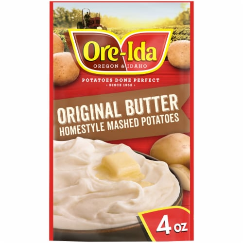 Ore-Ida Original Butter Homestyle Mashed Potatoes Perspective: front