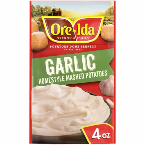 Ore-Ida Garlic Homestyle Mashed Potatoes Perspective: front