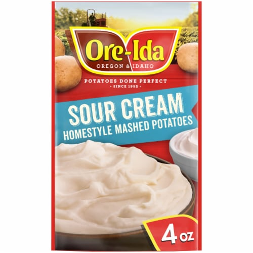 Ore-Ida Sour Cream Homestyle Mashed Potatoes Perspective: front