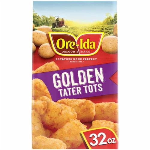 Ore-Ida Gluten Free Golden Tater Tots Perspective: front