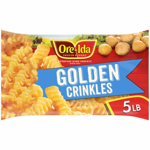 Ore-Ida Golden Crinkles French Fried Potatoes Perspective: front