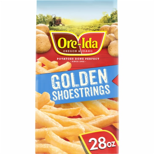 Ore-Ida Golden Shoestrings French Fried Potatoes Perspective: front