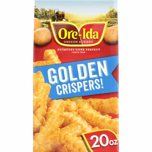 Ore-Ida Golden Crispers! Crispy French Fried Potatoes Perspective: front