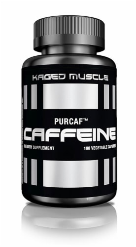 PurCaf Organic Caffeine Vegetable Caps Perspective: front