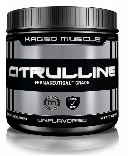 Micropure Unflavored Citrulline Powder Perspective: front